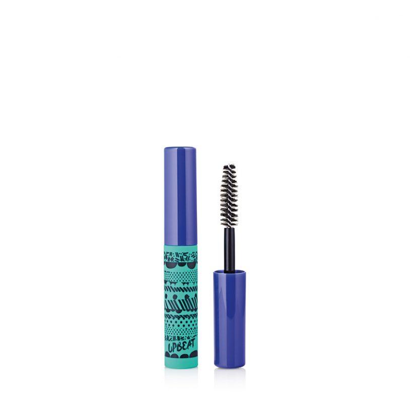 mini cosmetics packaging with innovative fibre mascara brush applicator