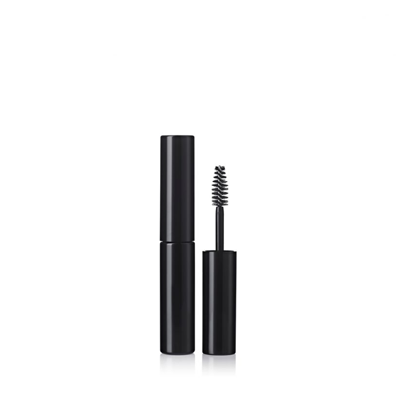 mini mascara packaging with fibre brush