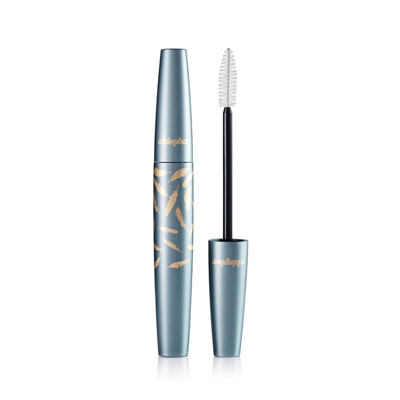 cosmetics packaging with innovative fibre mascara brush applicator