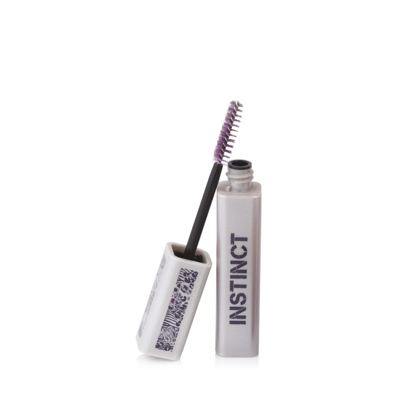 cosmetics packaging with innovative twisted-wire mascara brush applicator