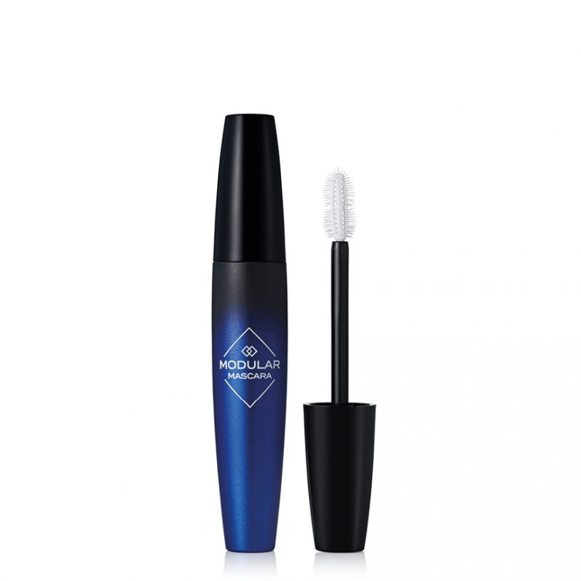 cosmetics packaging with innovative moulded plastic mascara brush applicator