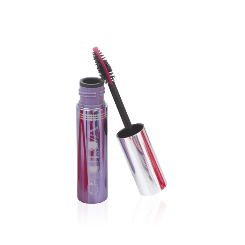 cosmetics packaging with innovative fibre mascara brush applicator