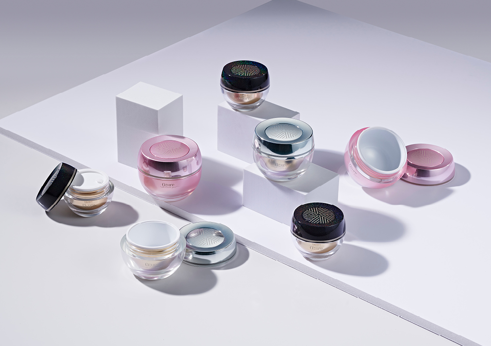 premium skincare jars beauty packaging from supplier HCP
