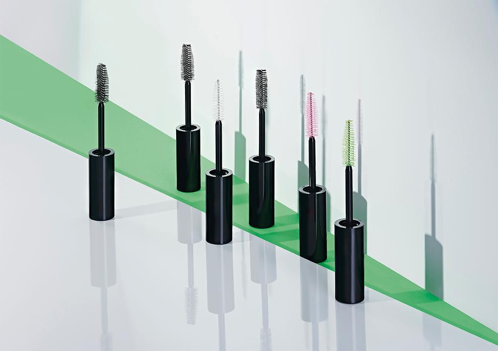 innovative fibre mascara spider brush technology