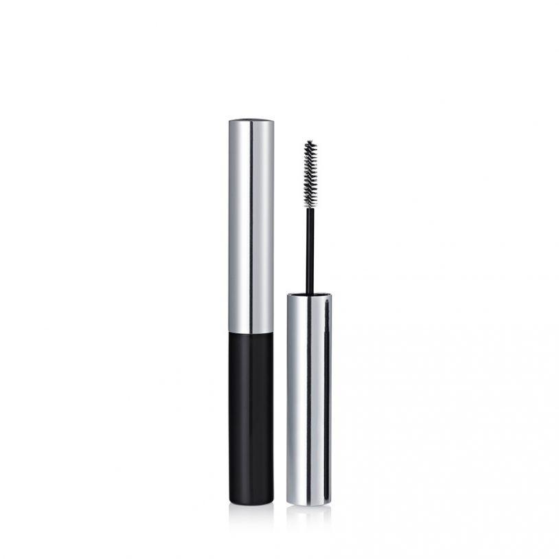 super slim microcara mascara packaging with skinny fibre brush