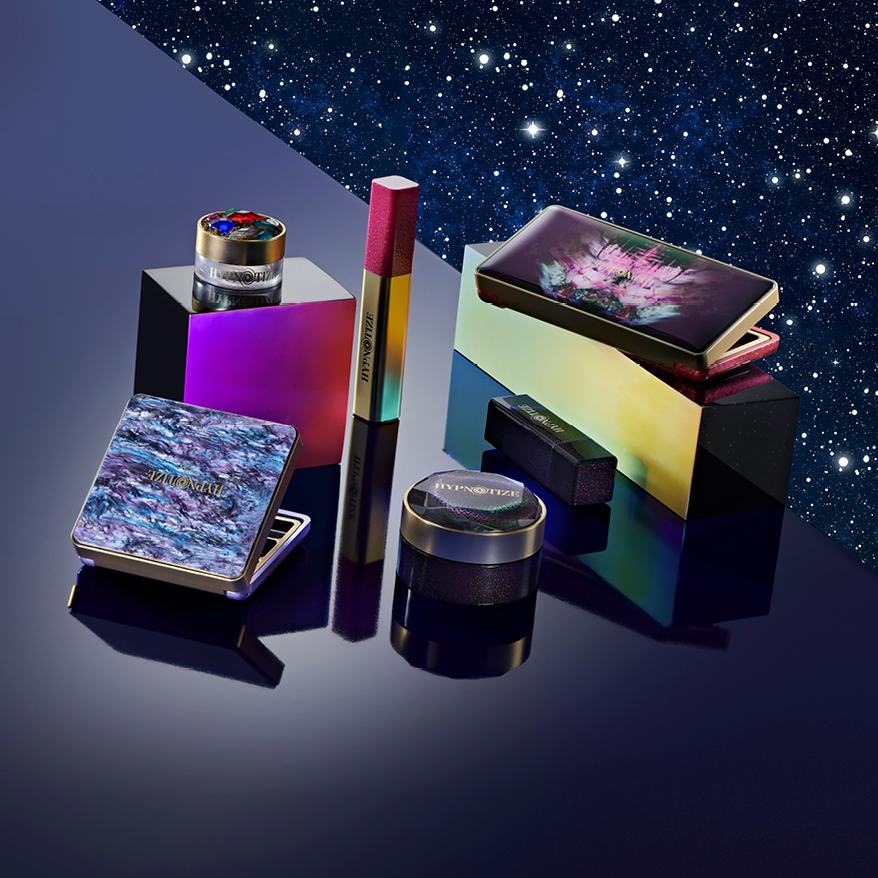 sparkling and decorative beauty and cosmetics packaging