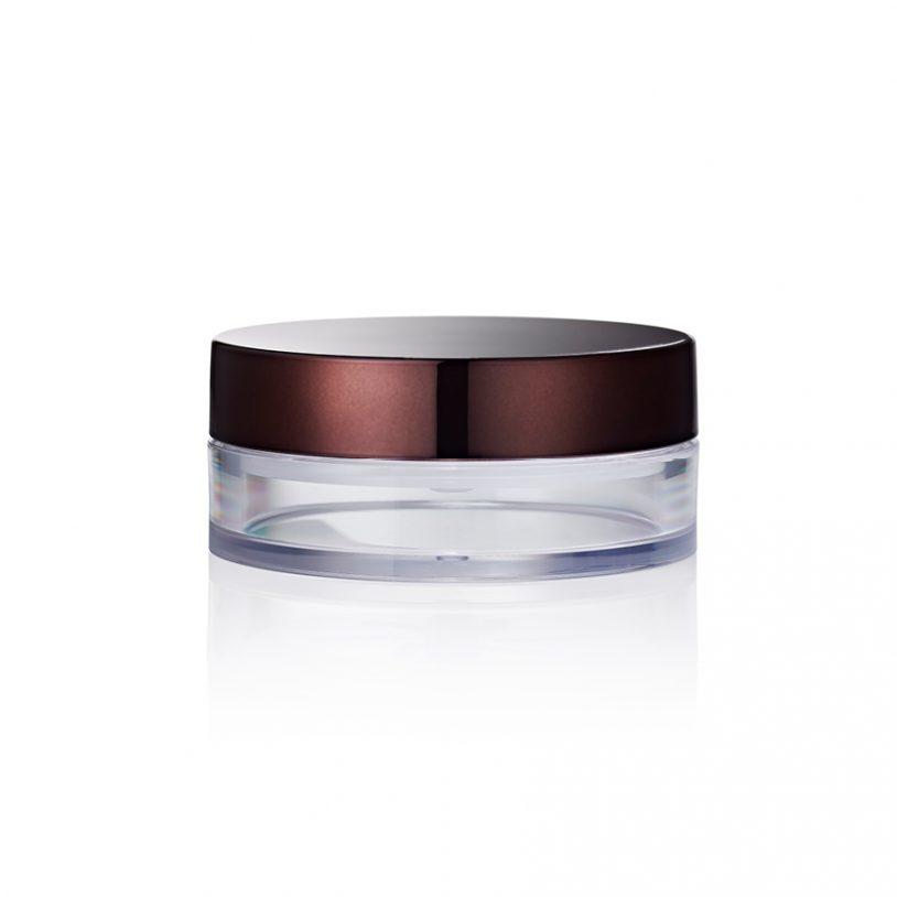 MakeUp Packaging Loose Powder Pot with Locking Starfish Sifter